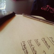 enveloppe contenant les sujets d'exam remis à l'étudiant secretaire