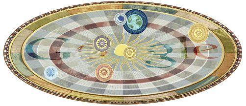 doodle google copernic