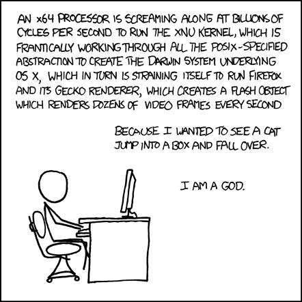 Votre ordinateur, cette cellule bourrée d'organites