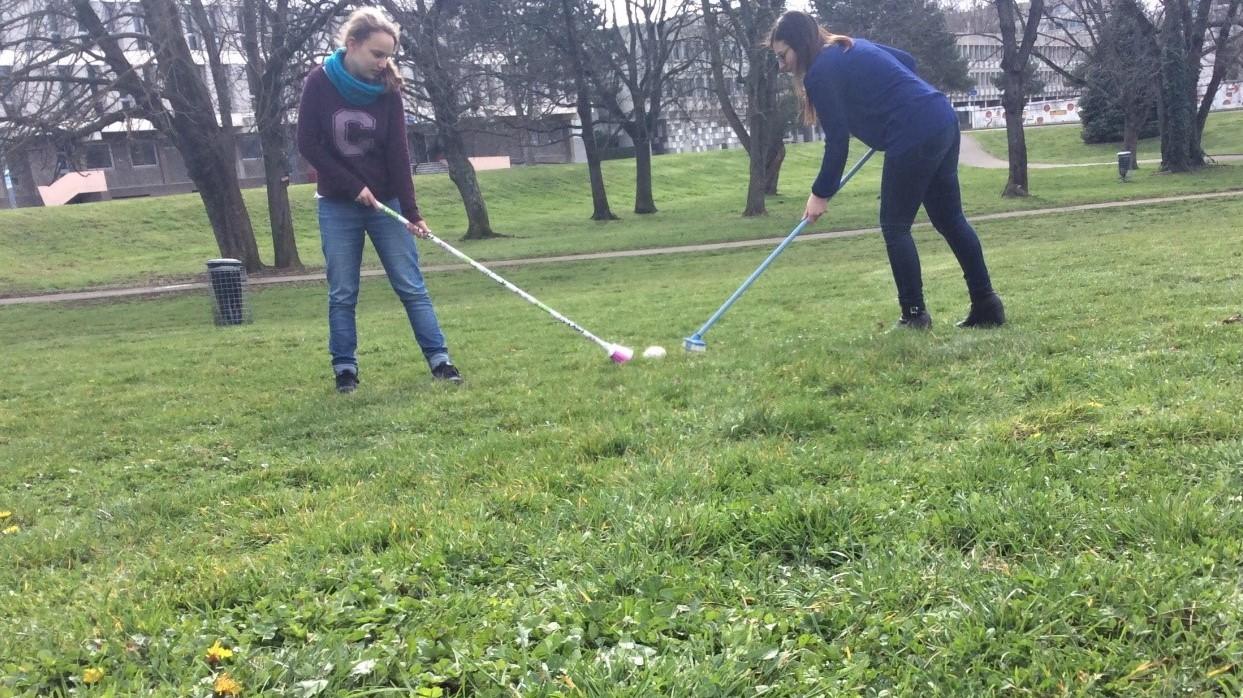 Le curling sur gazon, sport d'avenir ?