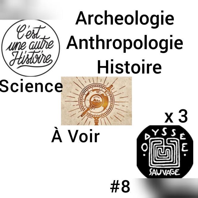 SàV #8 Triple dose d'Histoire, archéologie, anthropologie