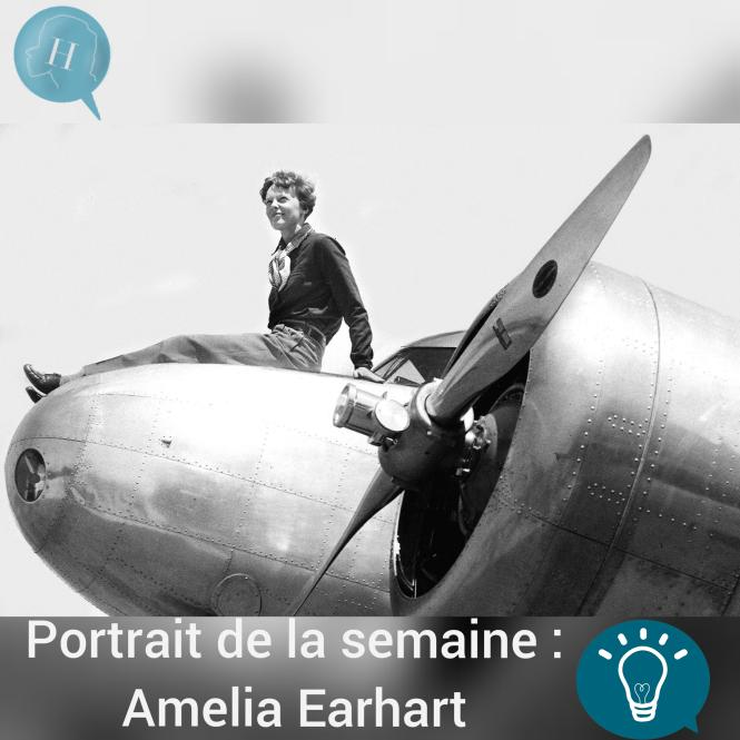 Portrait de la semaine : Amelia Earhart