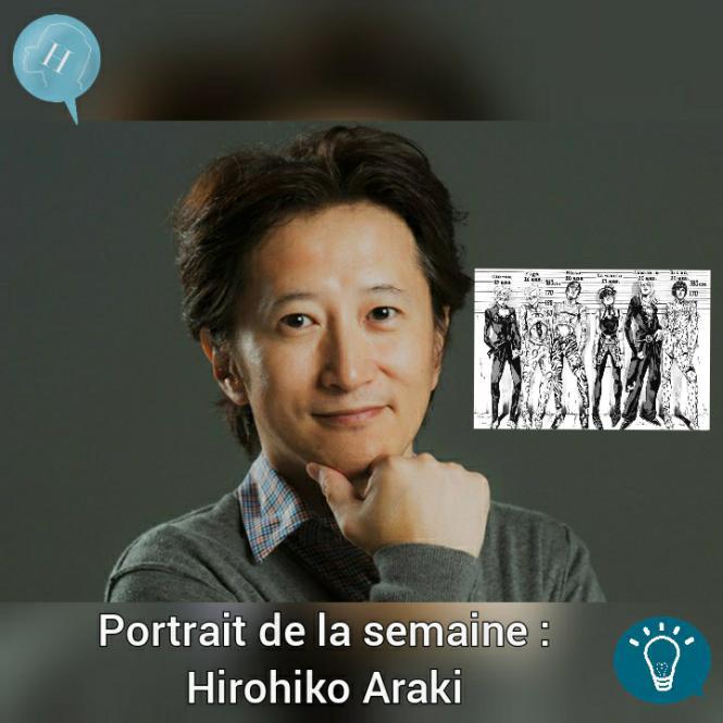 Portrait de la semaine : Hirohiko Araki