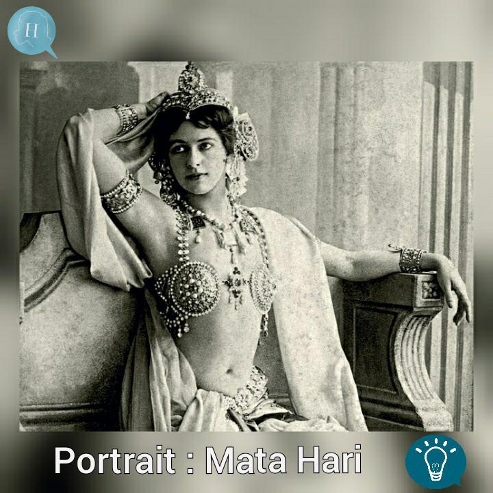 Portrait de la semaine : Mata Hari