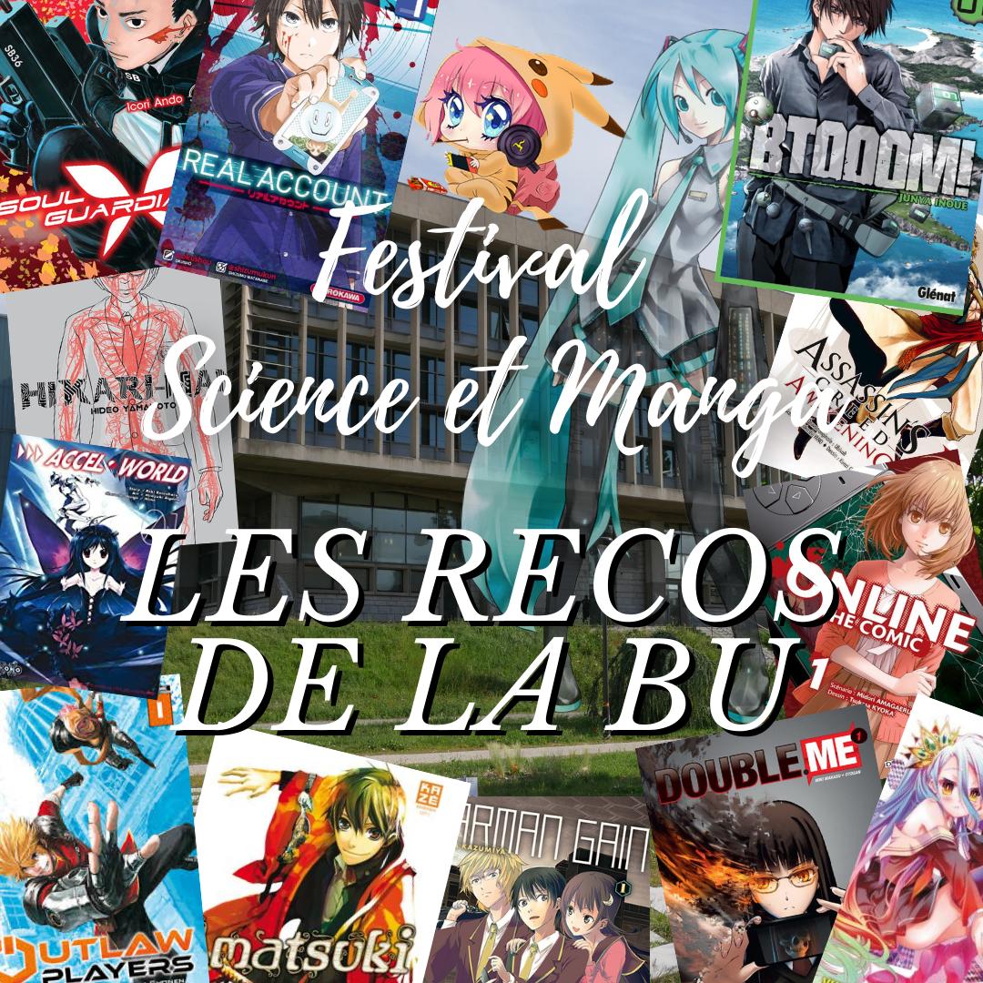 Science et Manga : Les recommandation de la BU