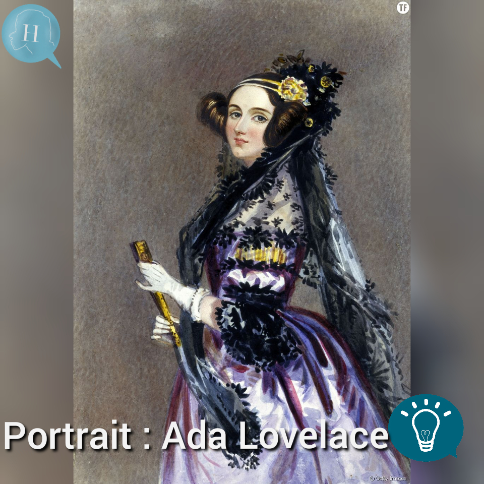 Portrait de la semaine: Ada Lovelace