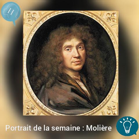 Portrait de la semaine : Molière